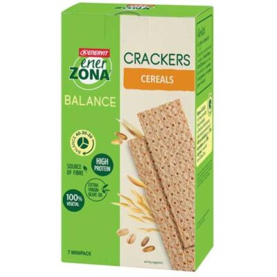 ENERZONA CRACKERS CEREALS 175G