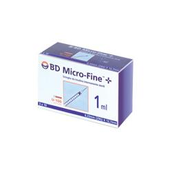 SIR INSULINA BD 1ML G29 30PZ